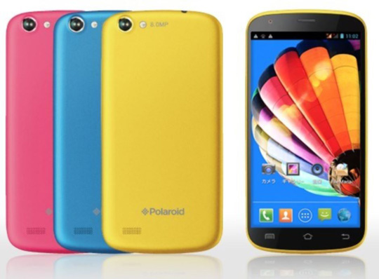 Polaroid lanza el teléfono inteligente PolaSma