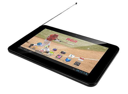RCA 7 TV una tablet con TV y Dual core en México antena de TV