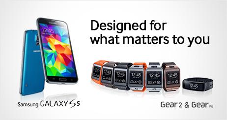 Samsung Galaxy S5 Gear 2 Neo, Gear 2 y Gear Fit llega a 125 países