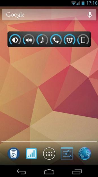 app slider widget