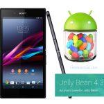 Sony Xperia Z Ultra recibe Android 4.3 Jelly Bean en Telcel México