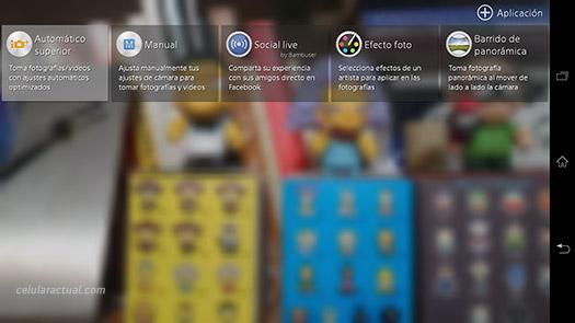 Sony Xperia Z Ultra con  Android 4.3 Jelly Bean en Telcel México  Cámara App renovada
