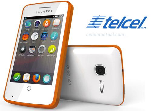Alcatel One Touch Fire con Firefox OS en México con Telcel