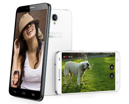Alcatel One Touch Idol 2 negro y blanco