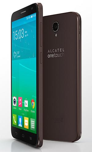 Alcatel One Touch Idol 2 negro  cámara y pantalla