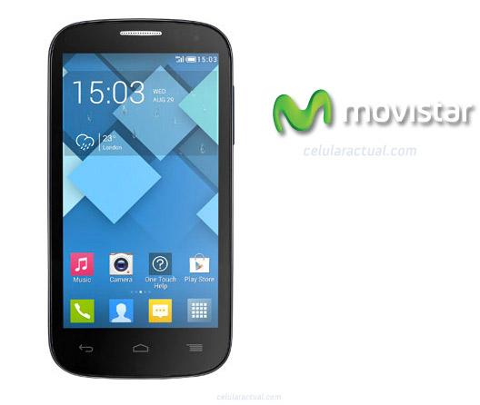 Alcatel One Touch Pop C5 en México con Movistar