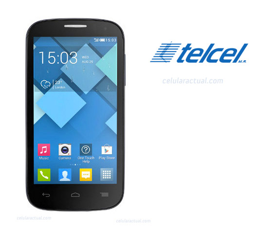 Alcatel One Touch Pop C5 con TV análoga en  México con Telcel