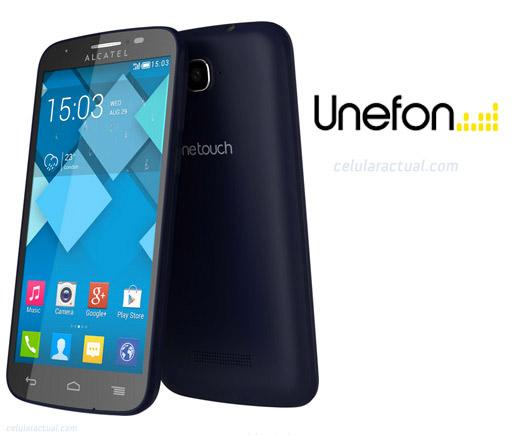 Alcatel One Touch Pop C7 en Unefon México