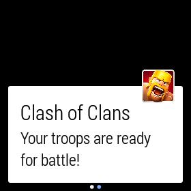 Android Wear notificación juego