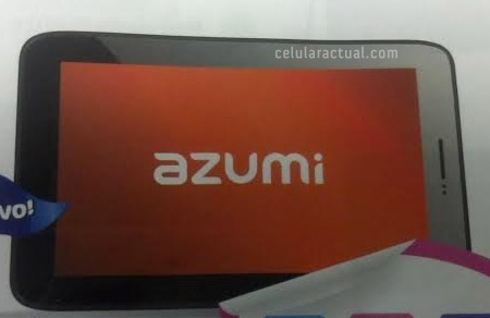 Azumi AT7 tablet en México Telcel Catálogo Abril Junio 2014