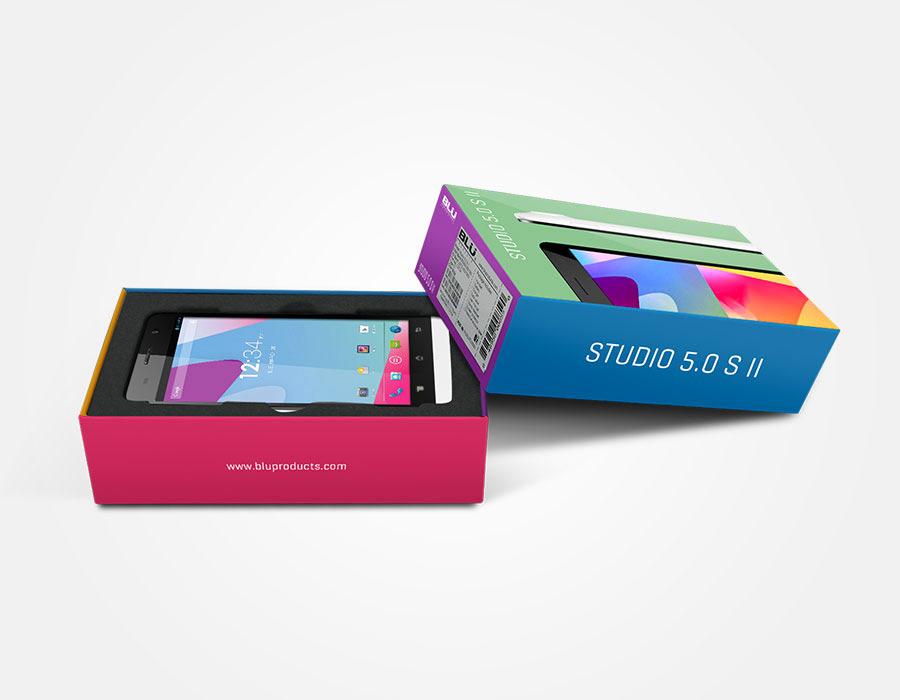 Blu Studio 5.0 S II caja