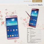Samsung lanzará el Galaxy Note 3 Neo en colores Rosa y Rojo