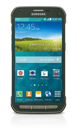 Samsung Galaxy S5 Active oficial color Gris