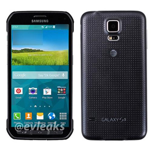 El Samsung Galaxy S5 Active oficial para AT&T