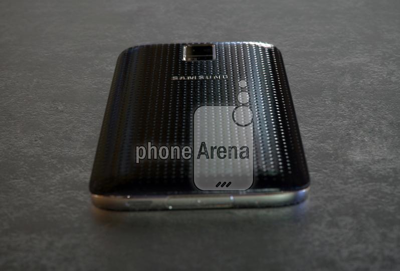 El Galaxy S5 Prime Alpha en fotos en directo cubierta trasera