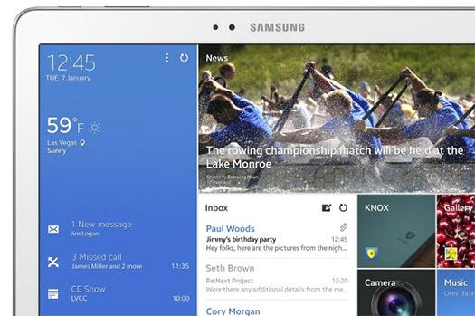 La Samsung Galaxy Tab Pro detalle
