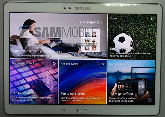 Samsung Galaxy Tab S 10.5 pantalla HD