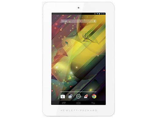 HP 7 Plus tablet frente