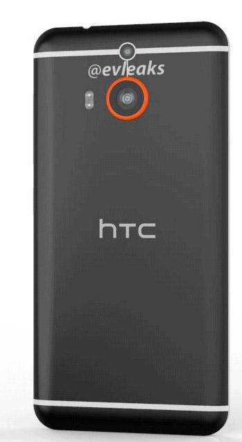 HTC M8 Prime completo parte trasera cámara Dual