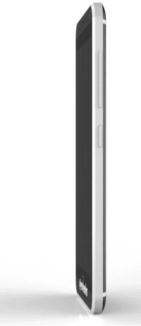 HTC M8 Prime completo de lado