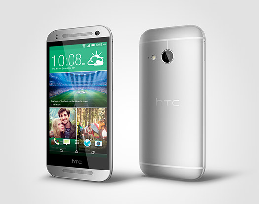 HTC One mini 2 oficial pantalla y cámara