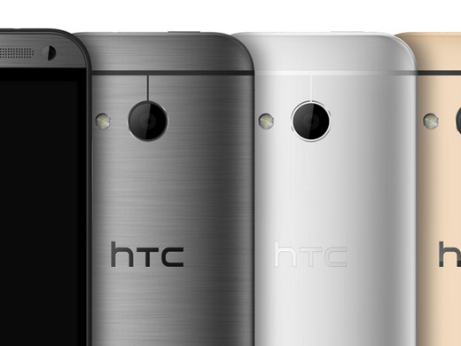 HTC One Mini 2 oficial opciones de color detalle