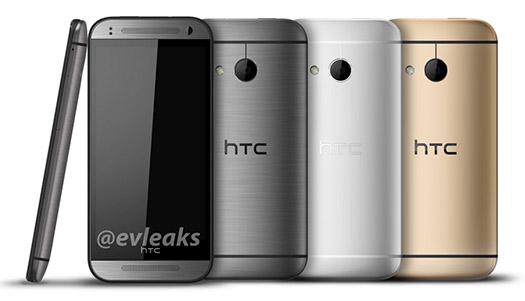 HTC One Mini 2 oficial opciones de color