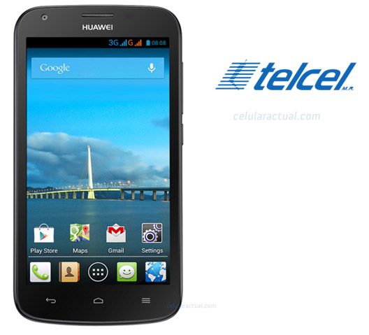Huawei Ascend Y600 color negro con Telcel
