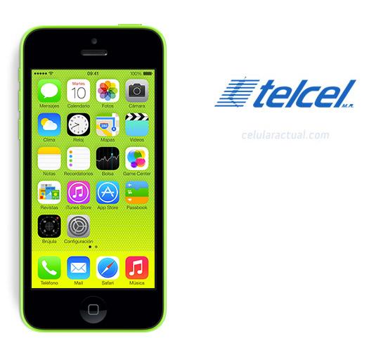 iPhone 5C de 8GB  en México con Telcel