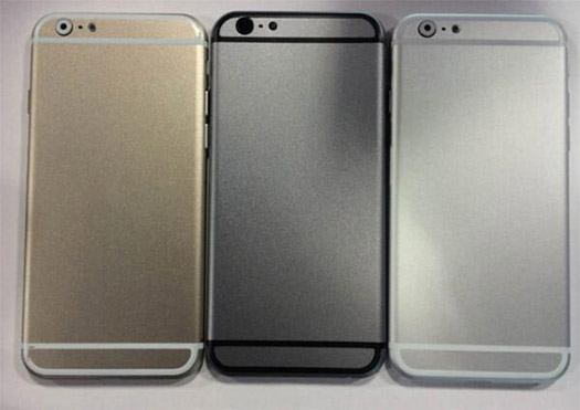 iPhone 6 Dummy colores trasera cámara