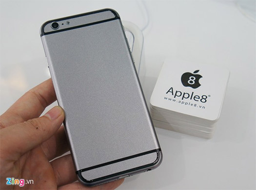 "Apple iPhone 6 de 4.7"" dummy cámara trasera"