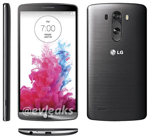 LG G3 Black Titanium