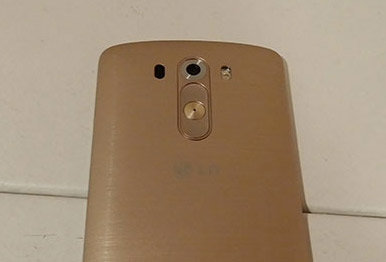 LG G3 en color Oro detalle cámara
