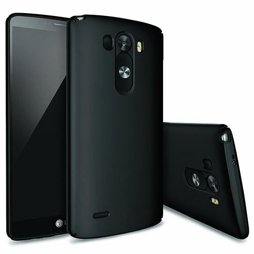 LG G3 con cubierta y gran altavoz color negro