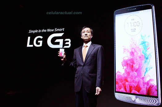 LG G3 Dr Jong Presidente de LG Mobile