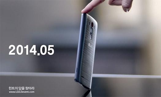 LG G3 Video Diseño