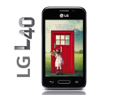 LG L40 en México con Telcel