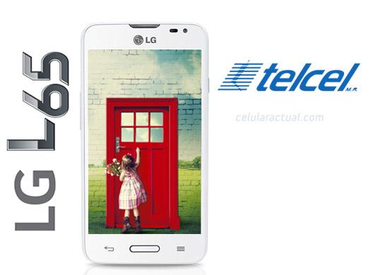 LG L65 D280 en México con Telcel