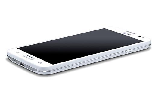 LG L70 D320F8 color blanco pantalla reposo
