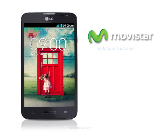 LG L70 D320F8 color negro en Movistar México