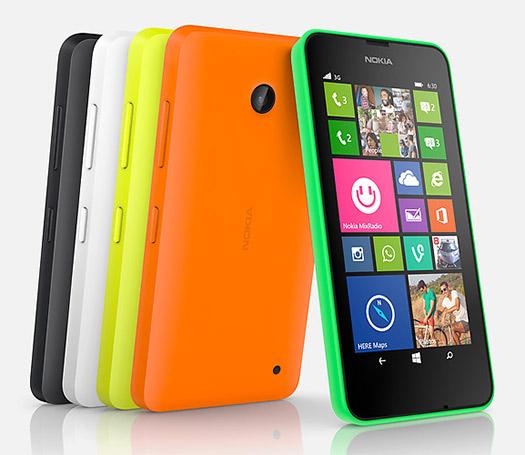 Nokia Lumia 630 colores