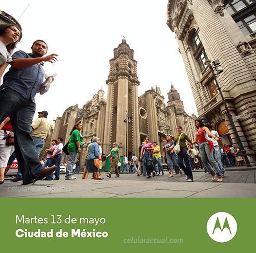Moto E en México Invitación Motorola 13 de Mayo Ciudad de México