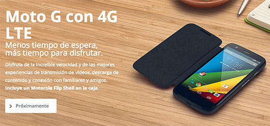 Motorola Moto G 4G LTE con microSD en México: Telcel, Iusacell, Nextel y Movistar