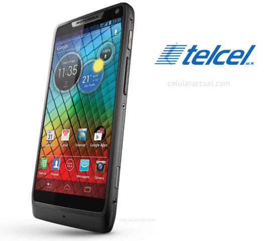 Motorola RAZR i en México con Telcel