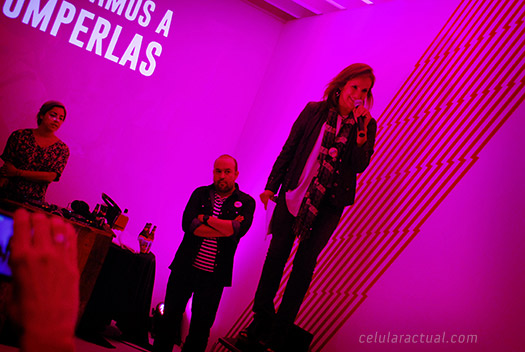Virgin Mobile en México evento Cecilia Vega CMO
