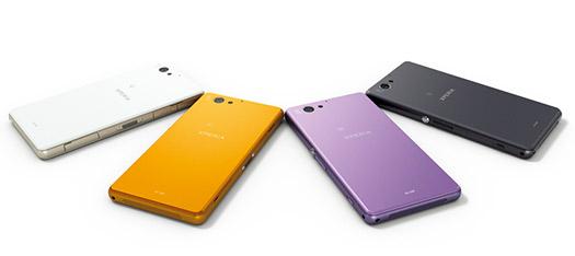 Sony Xperia A2 SO-04F colores