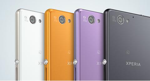 Sony Xperia A2 SO-04F colores cámara trasera