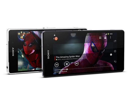 Sony Xperia Z2 en México pantalla reproductor de video