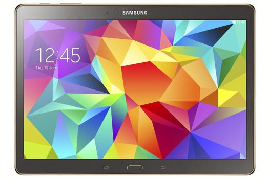Samsung  Galaxy Tab S 10.5 bronce pantalla Super AMOLED HD