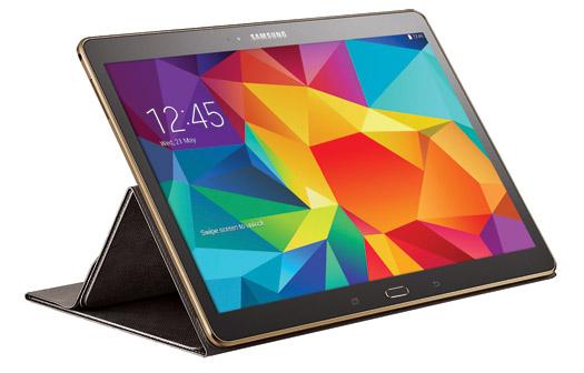 Samsung Galaxy Tab S 10.5 con Book Cover escribir